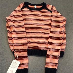 NWT Lululemon Devi Crew Sweater, Size 10